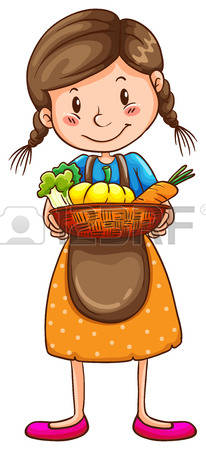 2,635 Farm Girl Stock Illustrations, Cliparts And Royalty Free.