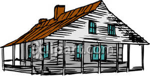 Farm House Clipart.