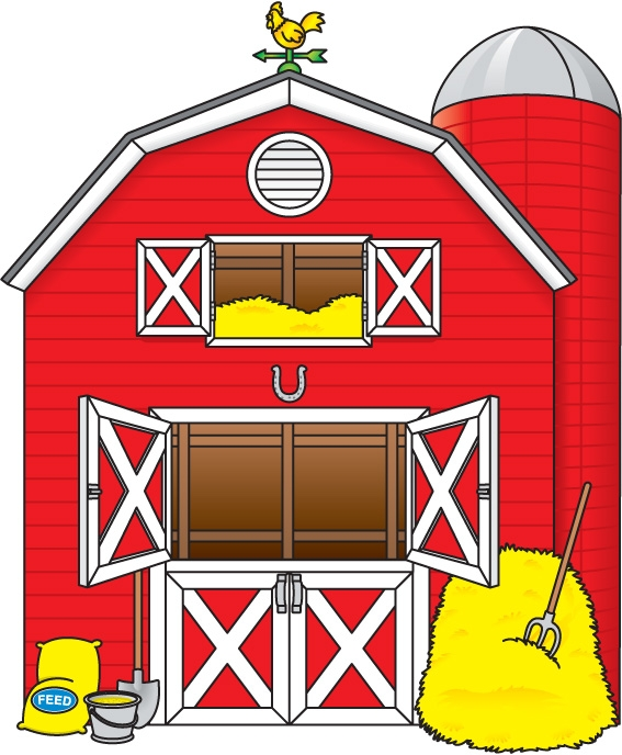 Farm House Clip Art Free.