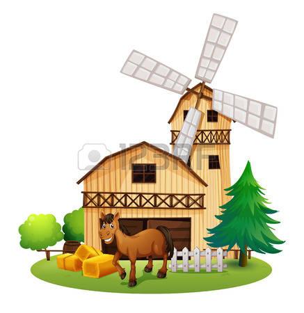 11,464 Farm House Stock Vector Illustration And Royalty Free Farm.