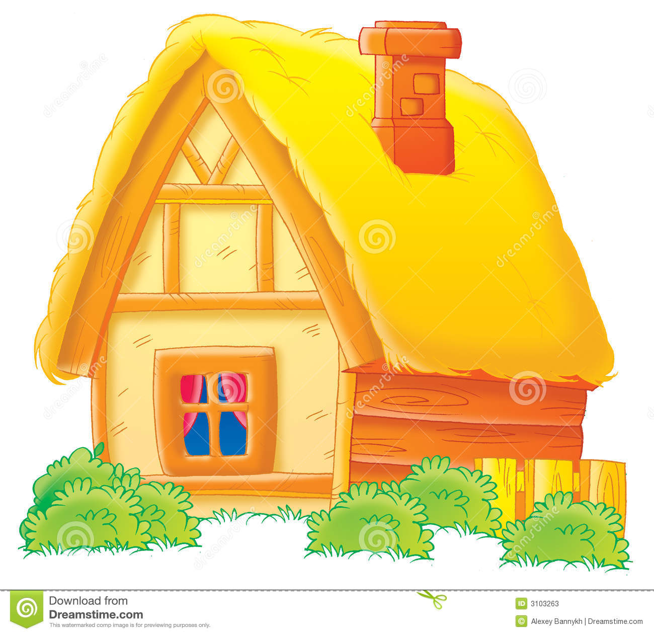 Clipart and farm house.