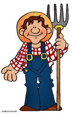 Clipart farmer.