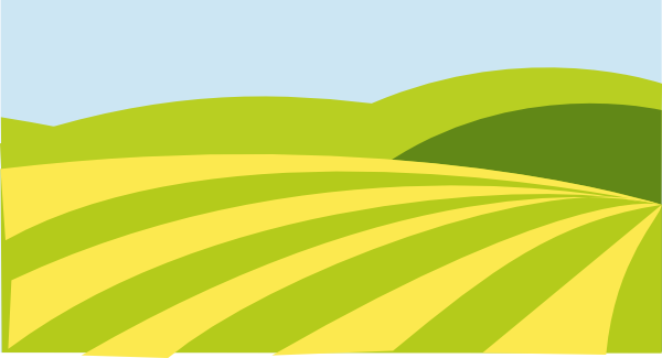 Farmland Clipart.