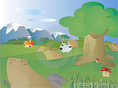 Farmland Clip Art.
