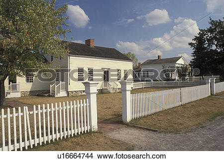 Stock Photo of NY, New York, Mumford, Jones Farm at Genesee.