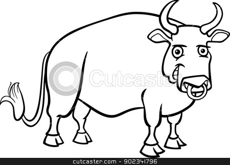 Ox Clip Art.