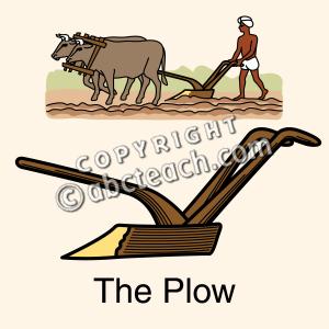 Farm Plow Clipart.