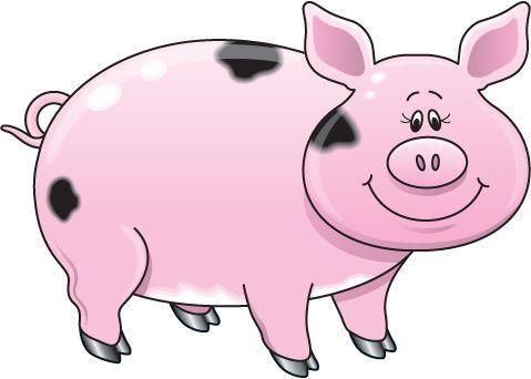 Farm Animals clipart pig #1.