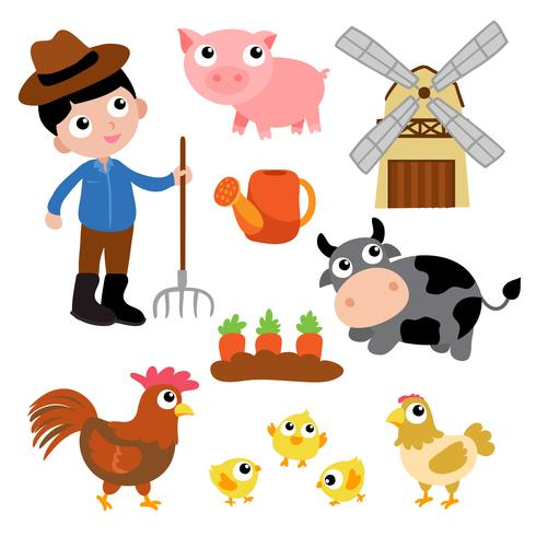 farm vector design.
