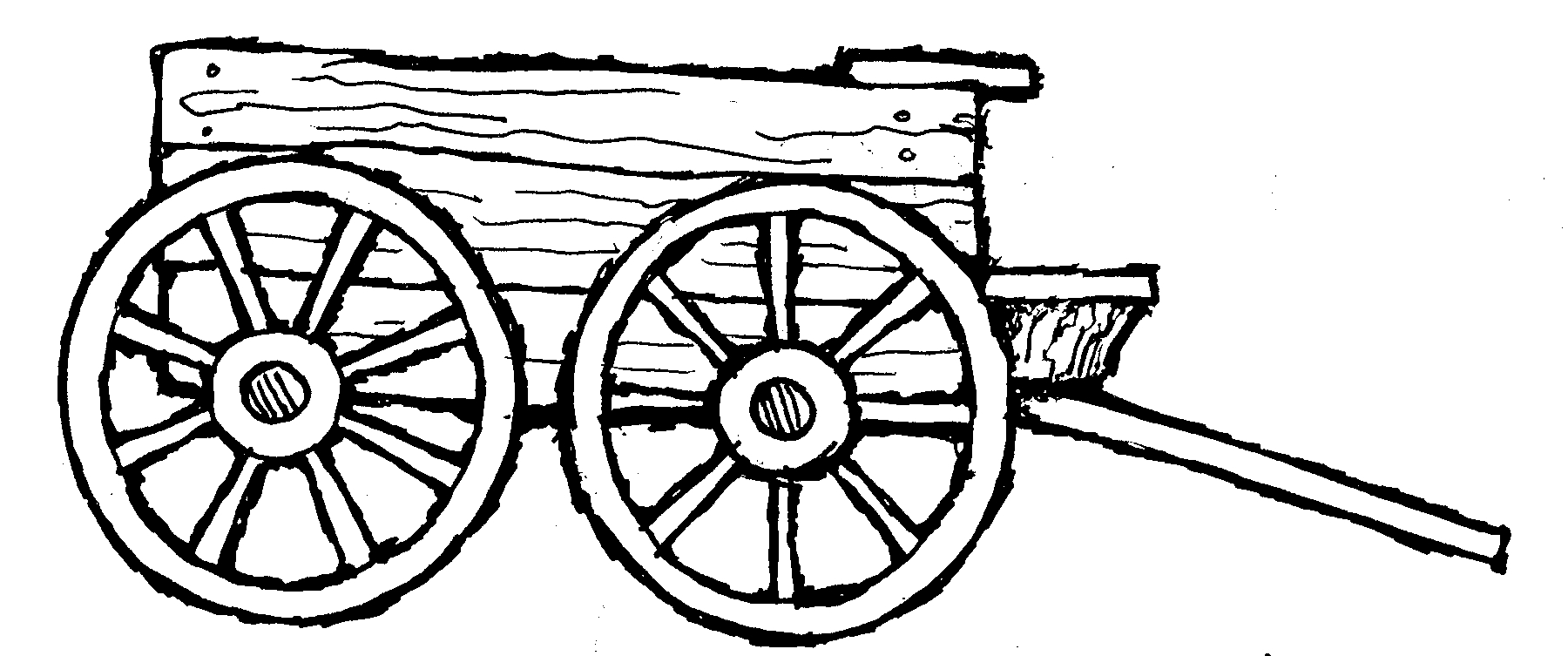 Farm Wagon Clipart.