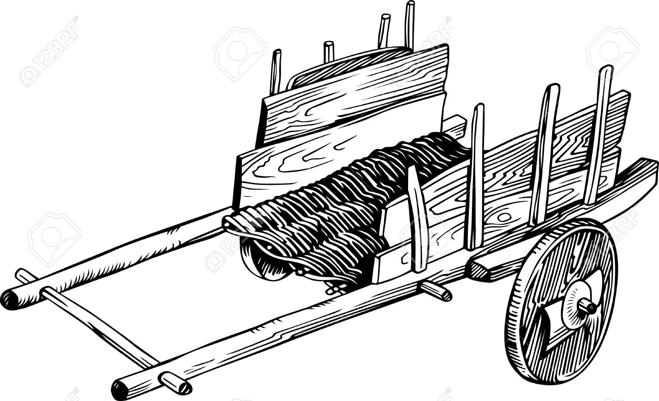 Farm wagon clipart Clipground