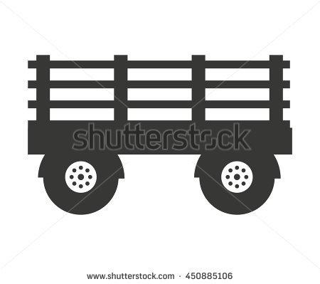 Farm Wagon Stock Photos, Royalty.