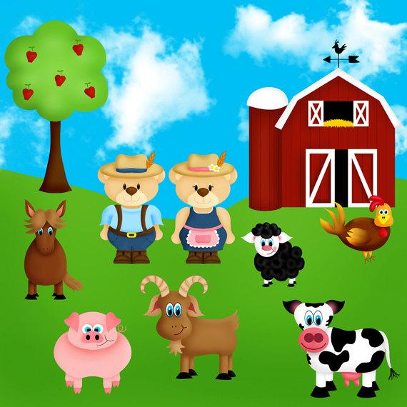 Farmyard Clipart.