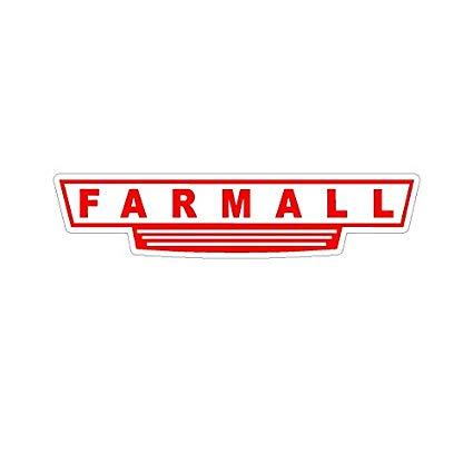 #29 Small Farmall Sticker Window decal.