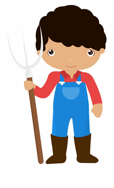Little Farmer Boy Png Farmer Clipart Png.
