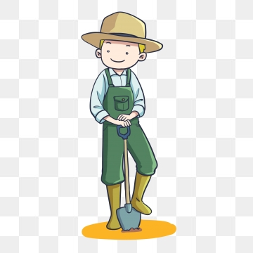 Farmer Cartoon PNG Images.