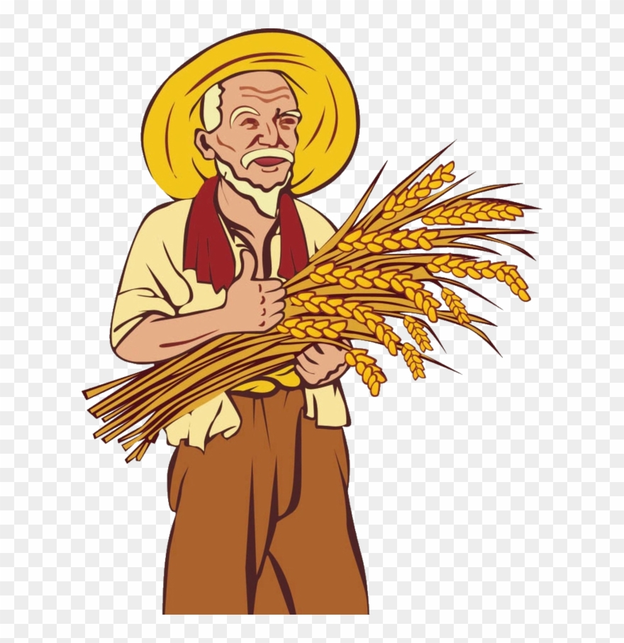 Png Free Library Farmer Agriculture Clip Art Transprent.