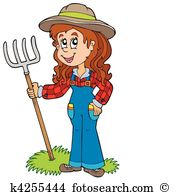 Farmer Clip Art Illustrations. 87,860 farmer clipart EPS vector.