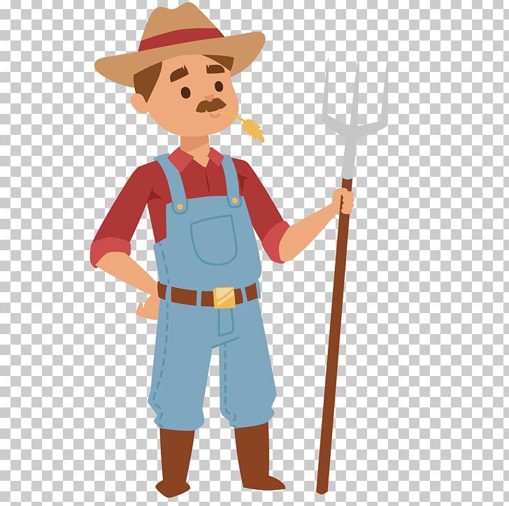 Farmer Cartoon Agriculture PNG, Clipart, Art, Boy, Cowboy.