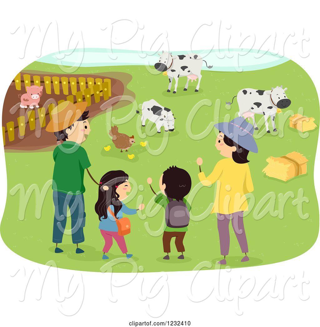 Farming clipart farmer family, Farming farmer family.