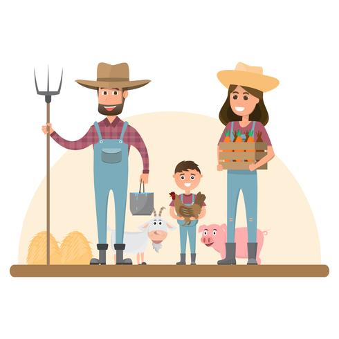 farmer family clipart 10 free Cliparts | Download images ...