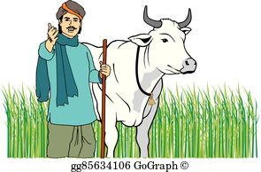 Indian Farmer Ploughing Clipart Free Download Clip Art.