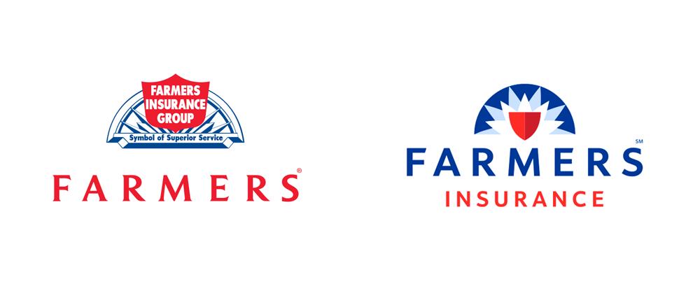 Brand New: New Logo for Farmers Insurance by Lippincott.