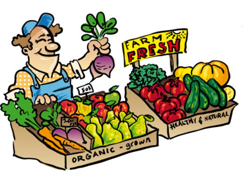 Local market clipart.