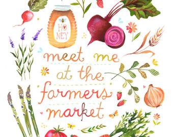 Farmers market clipart...