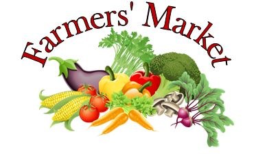 Farmers market sign clipart.