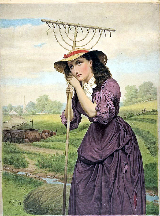 Whimsical Weekend Contest: The Farmer's Wife.