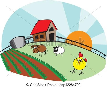 Farmhouse clipart - Clipground