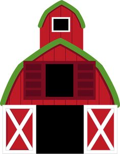 Red Farm Clipart