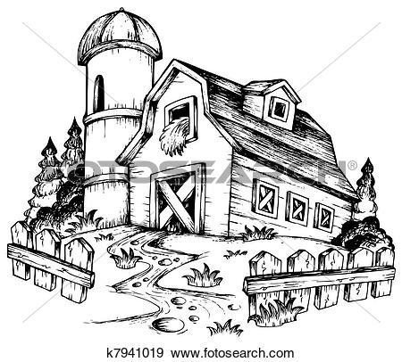 Farmhouse Clipart Illustrations. 1,687 farmhouse clip art vector.