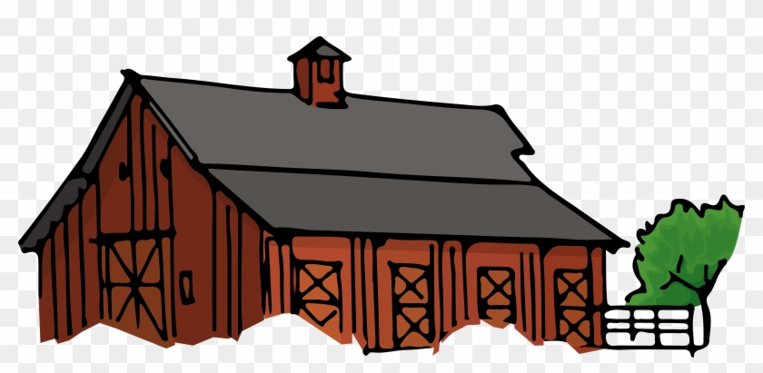 Drawing Farmhouse Poor House.