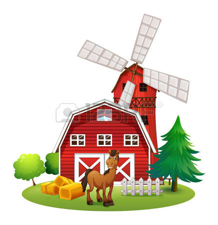 2,735 Farmhouses Stock Vector Illustration And Royalty Free.