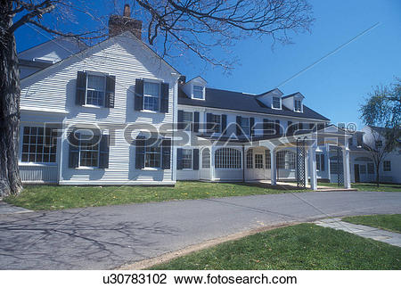 Stock Photo of Connecticut, Farmington, The House at the Hill.