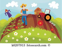Farmland Clipart and Illustration. 3,783 farmland clip art vector.
