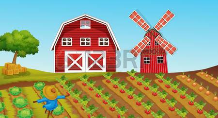 9,520 Farm Farmland Cliparts, Stock Vector And Royalty Free Farm.