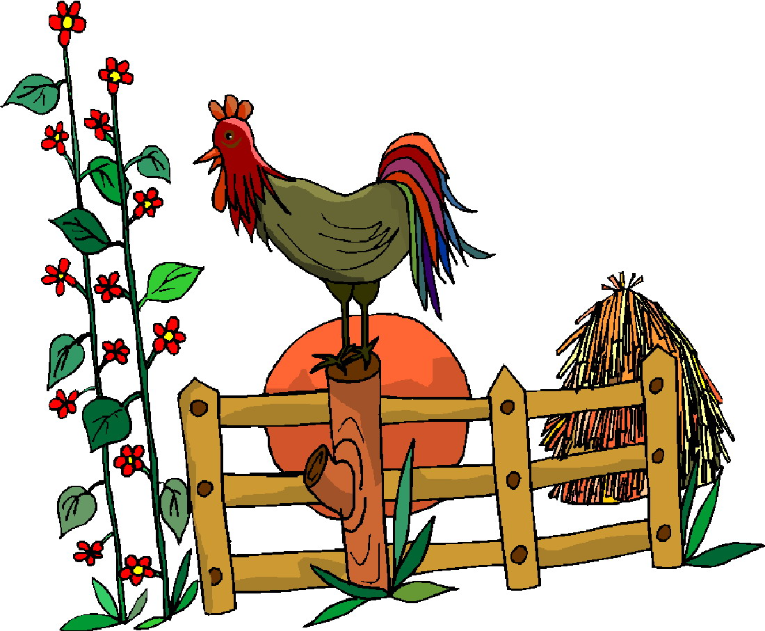 Farm Border Clipart.