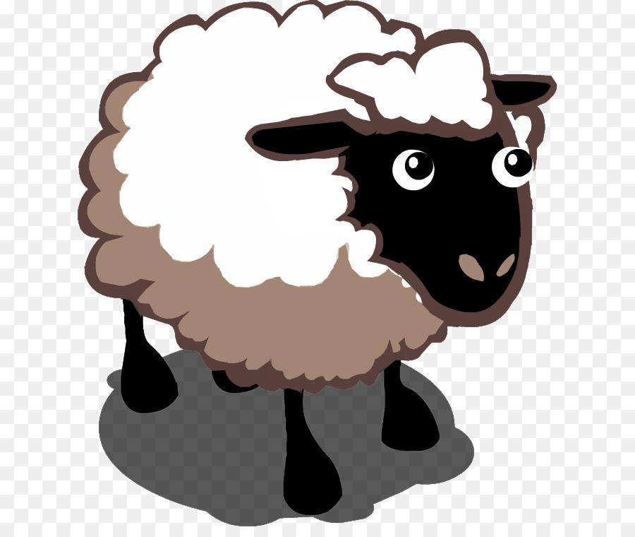 Cartoon Sheep png download.