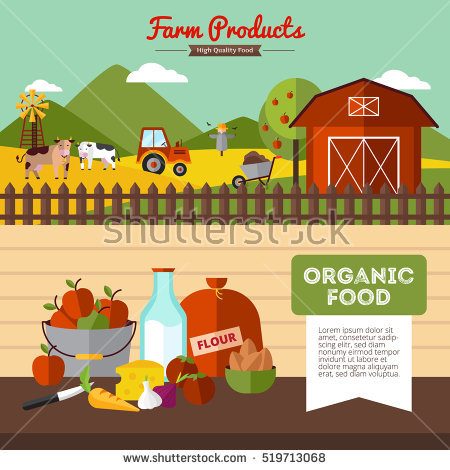 Vector Illustrations Agricultural Fertilizer Infographic Stock.