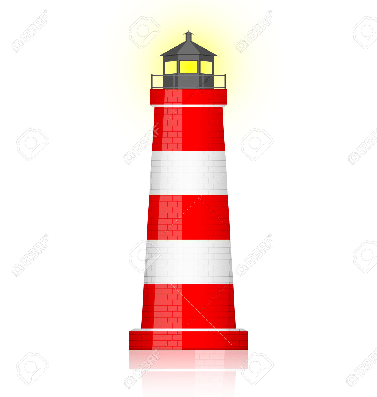 Clip Art. Lighthouse Clipart. Stonetire Free Clip Art Images.