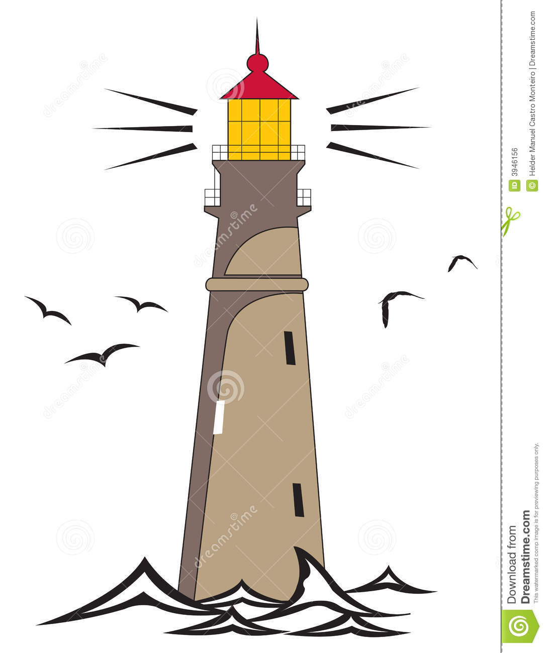 Lighthouse Royalty Free Stock Image.