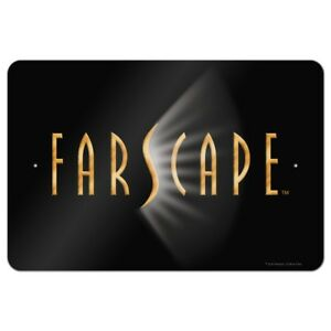 Details about Farscape TV Show Logo on Black Home Business Office Sign.
