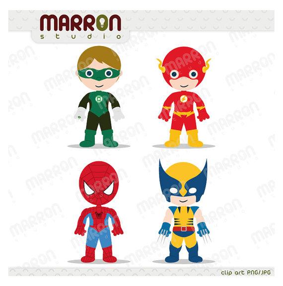 Flash Superhero Clipart.