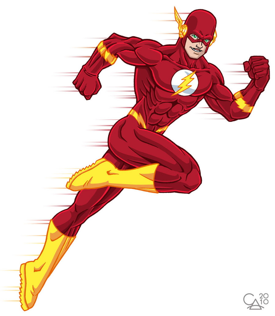 The flash clipart.