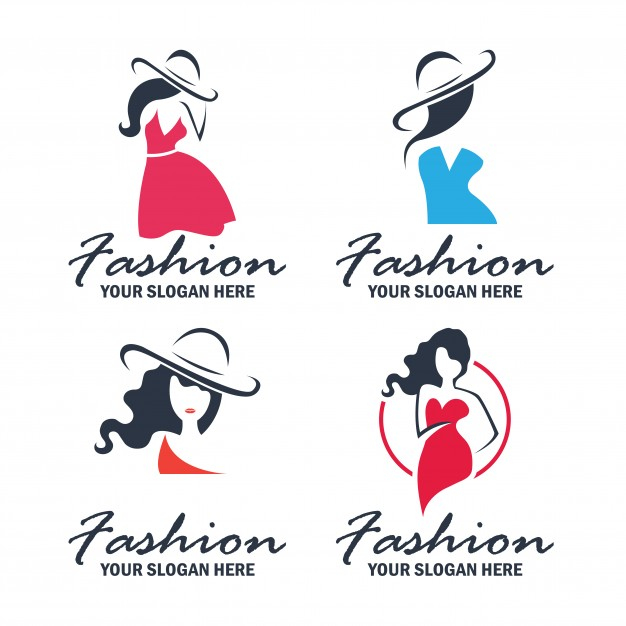 Set of fashion and beauty logo and emblem collection Vector.