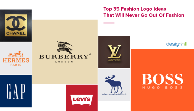 Top 35 Fashion Logo Ideas That Will Never Go Out Of Fashion.