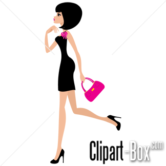 Clip Art Ladies Fashion Clipart.